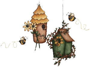 bee bird house