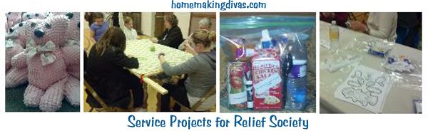 Relief Society Service Projects