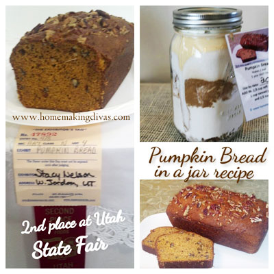 Pumpkin Bread in a Jar Recipe