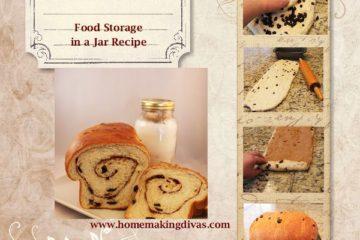 Cinnamon Swirled Raisin Bread