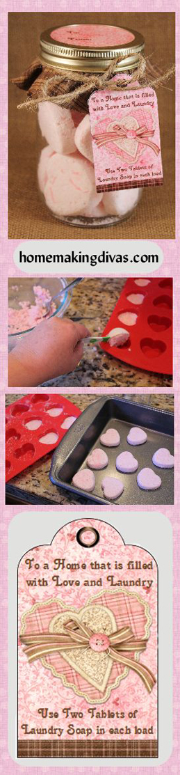 Homemade Laundry Tablets