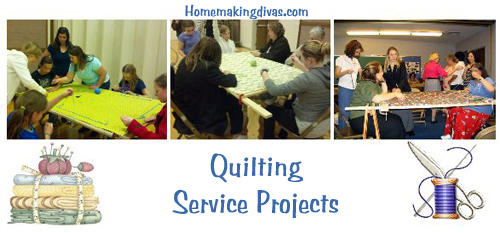 quilting service projects for relief society