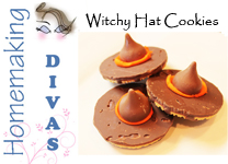 Witchy Hat Cookies