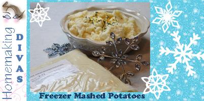 Make Ahead Freezer Mashed Potatoes