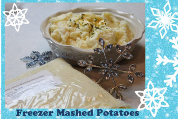 Make Ahead Freezer Mashed Potatoes
