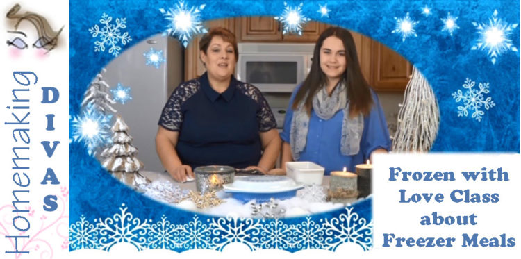 Frozen with Love - Freezer Meals