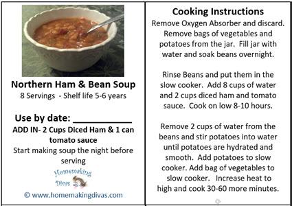 Northern Ham & Bean Soup PDF file